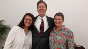 Photo of Charmaine, Dr Dale Bredesen and Jean